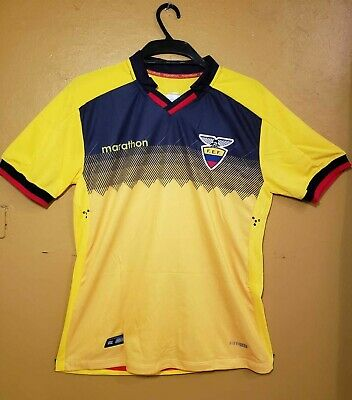 Official Jersey 2019 AAA Yellow FEF Ecuador Soccer