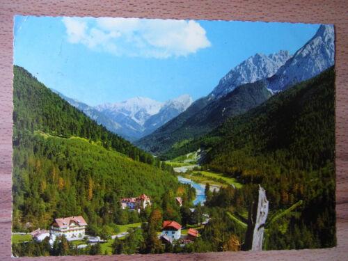 Postkarte Österreich Ansichtskarte Österreich Karwendel 1979