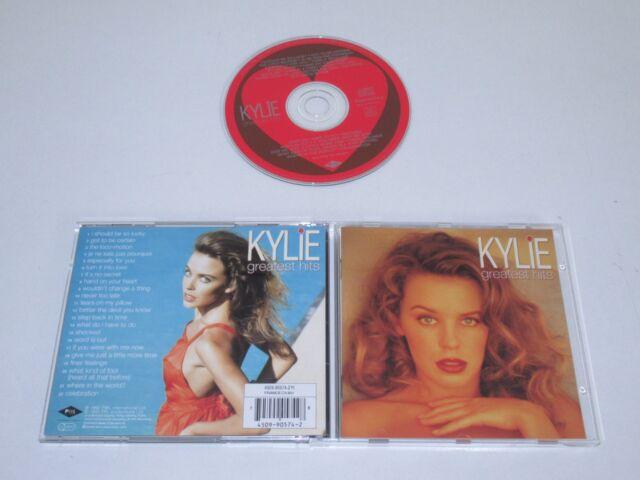 KYLIE/GREATEST HITS(PWL 4509-90574-2) CD ALBUM