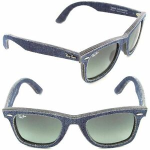 ca905dbb90 Ray-Ban Original Wayfarer Rb2140 116371 Blue Denim Grey Gradient Lens  Sunglasses