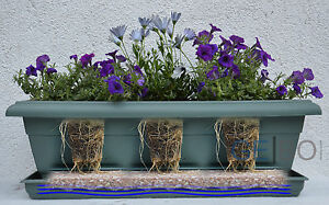 2 5 L Speichermatte Dungematte Blumenkasten Balkon