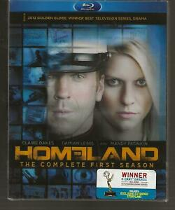 Homeland-The-Complete-First-Season-1-Blu-ray-3-Disc-2011-Claire-Danes-NEW-DVD