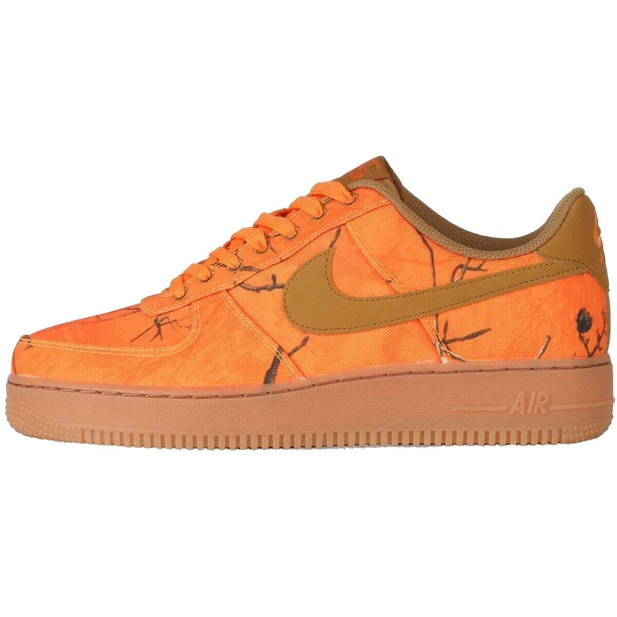 Nike Air Force 1 07 Lvb Realtree Ao2441-800 orange Mod.Ao2441-800