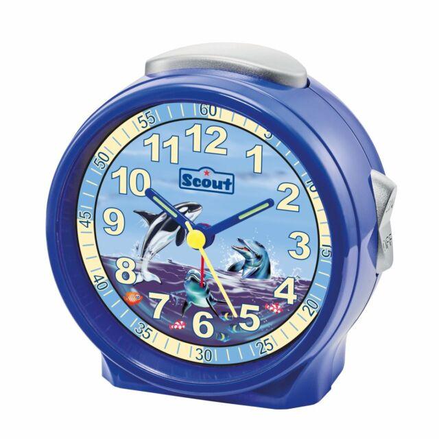 Scout Garçons Réveil Alarme Amis Bleu Dauphin 280001073
