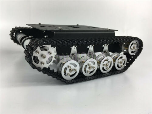 New Metal Robot Tank Chassis Independent Suspension Tracked Vehicle For Arduino