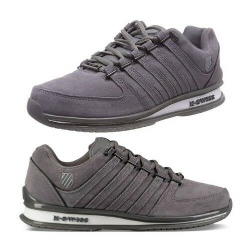 K-Swiss Mens Rinzler SP SDE Trainers Classic Leather Lace Up Designer shoes