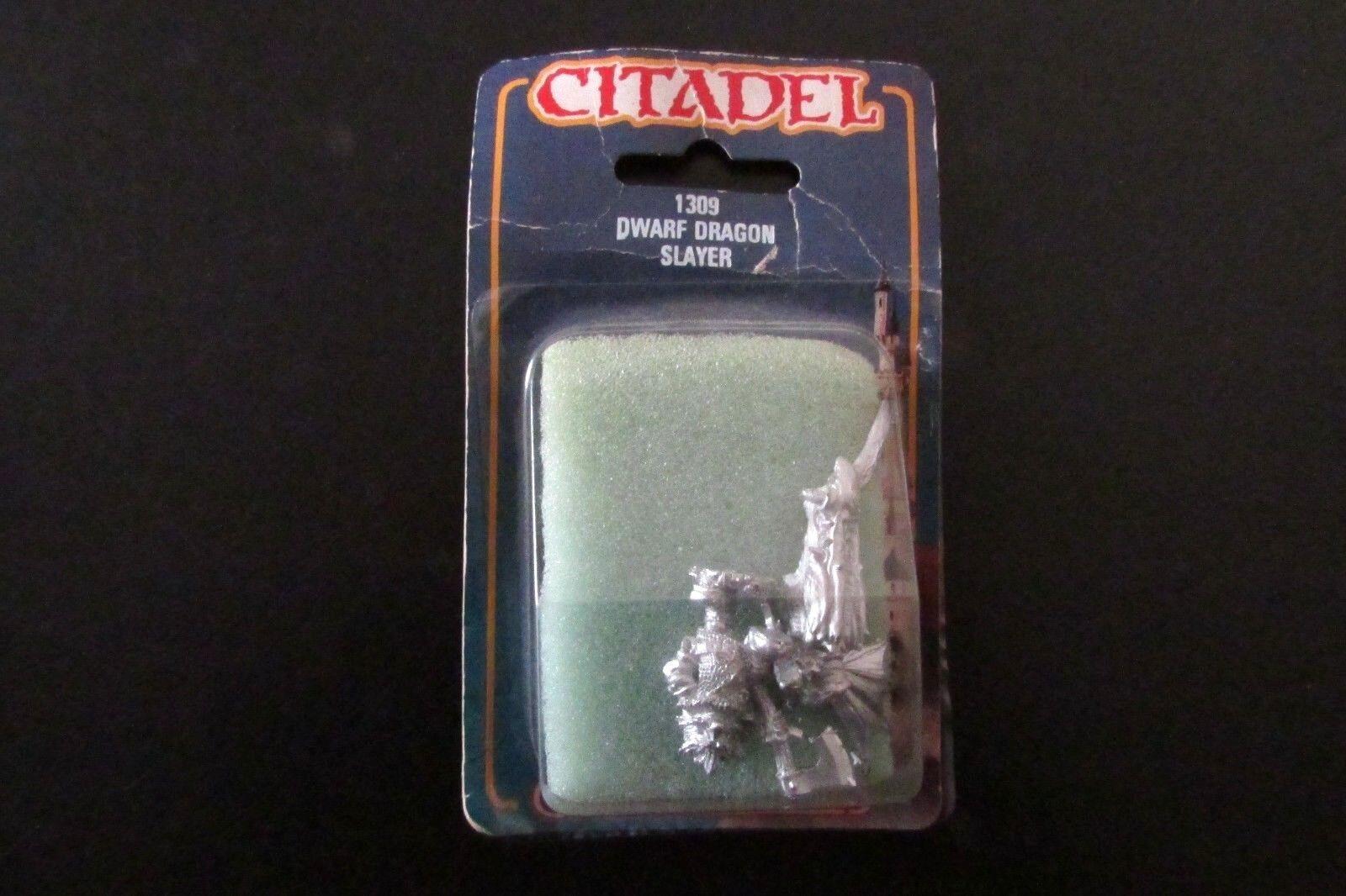 Épuisé Citadel Warhammer realm of chaos DS9 Dwarf Dragon Slayer Entièrement neuf dans sa boîte
