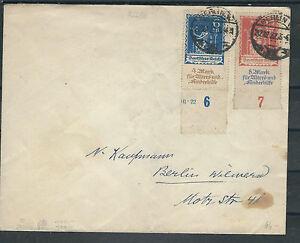 Deutsches Reich se Mi. Nº 233-234 sur überfrankierten ortsbrief avec partie Han-n Ortsbrief mit teil HANafficher le titre d`origine 2c6JqI83-07145725-922924516