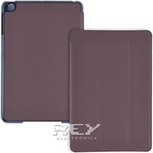 Funda Ipad Mini 1 / 2 / 3 Carcasa MarrÓn Protector Tapa Smart Cover Imán I315 Ytr0zusz-07231513-900315166