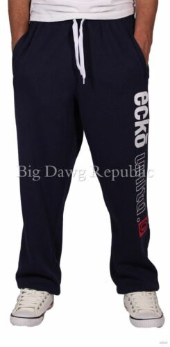 Jogger Bottoms Fleece Jogging Ecko Men/'s Designer Jog Pants Time Money Is