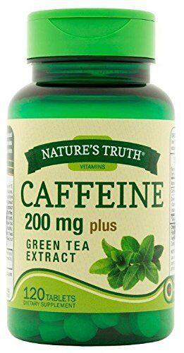 2 Paquet Natures Truth Caféine 200Mg Plus Thé Vert Extrait 120 Chaque