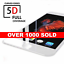 Apple-iPhone-8-PLUS-5D-Full-Coverage-Tempered-Glass-Screen-Protector-WHITE miniature 1
