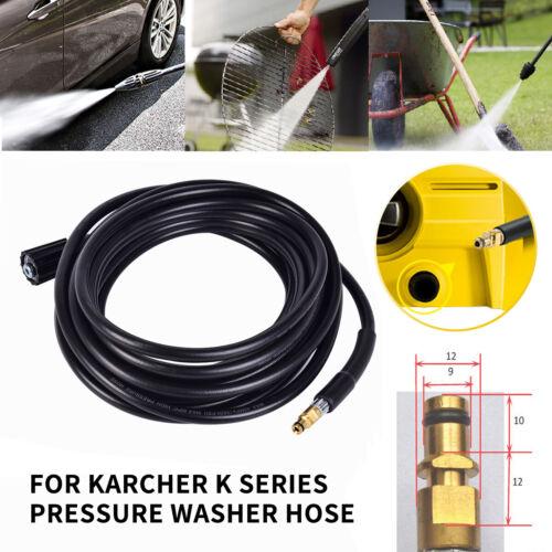 8M//10M M22 Thread 160Bar High Pressure Washer Hose Jet Wash Water Outlet Hose