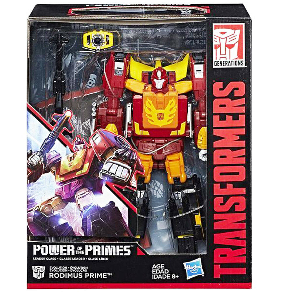 Transformers Power Of The Primes Leader W1 Evolution Rodimus Prime New