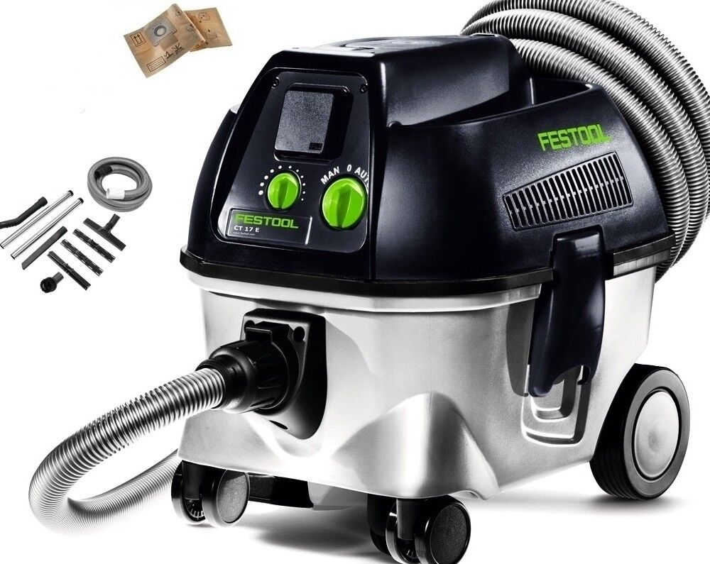 Festool Ct17 and Bin Shop Vac Aspirador Vacuum Cleaner Aspirateur Festo