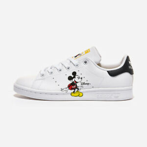 Details about Adidas x Disney Stan Smith - White / GW2250 / Mens Mickey Mouse Shoes Sneakers