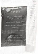 GENUINE TOYOTA /& LEXUS 0888780409 ALL MODELS BRAKE SHIM GREASE G747  08887-80409