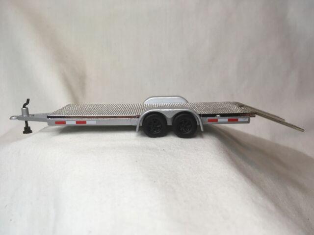 Johnny Lightning Car Hauler Trailer Flatbed.