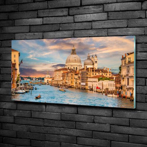 Glas-Bild Wandbilder Druck auf Glas 100x50 Sehenswürdigkeiten Venedig Italien