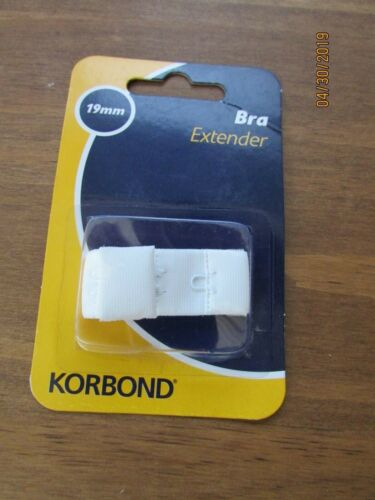 19mm White Bra Extender Strap Korbond Women Underwear Accessory