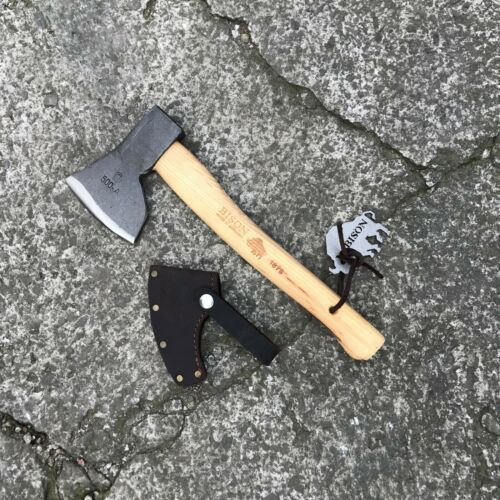 hachette-made in Germany 500 g chasseurs Splitter Bison 1879 Hand Forged axe