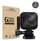 Gopro Hero 4 5 Session LCD Tempered Glass Lens Screen Impact Protector 3 Pack
