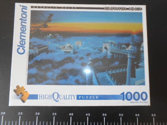 Taj Mahal Chayan Khoi Cyberealism 1000 pc Jigsaw Clementoni Puzzle 68 x 48 cm