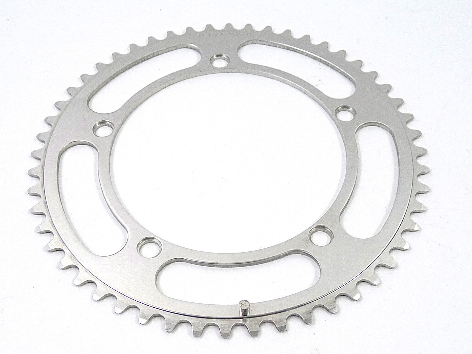 Campagnolo Nuovo Record Chainring 52T w Pin 144 Bcd 3 32  Vintage Bicycle NOS