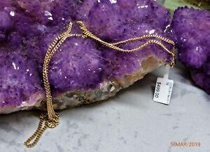 9CT-YGOLD-SOLID-GOLD-CURB-STYLE-LINK-NECKLACE-CHAIN-54cm-7-0gr
