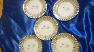 Bavaria Elfenbein Porzellan ,6 Pralinen/ Plätzchenteller 12 cm Durchmesser - Viersen, Deutschland - Bavaria Elfenbein Porzellan ,6 Pralinen/ Plätzchenteller 12 cm Durchmesser - Viersen, Deutschland