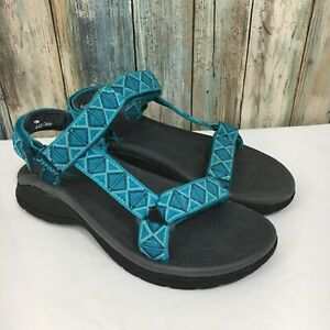J-Sport-by-Jambu-Womens-6-Turquoise-Lightweight-Open-Toe-Water-Sport-Sandals