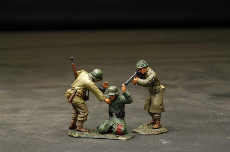 Figarti Miniatures WWII European Theatre Got ya FRITZ  ETA-045