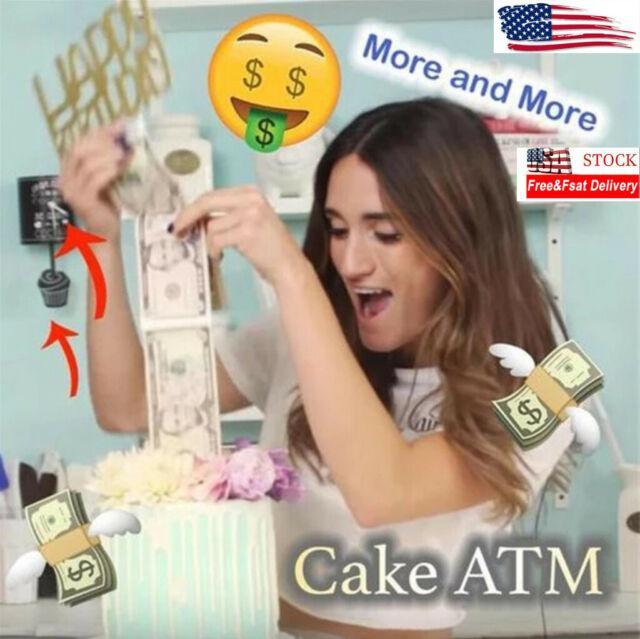 Happy 45th Birthday Casino Slot Machine Birthday ~ Edible Cake Topper ~ D21867