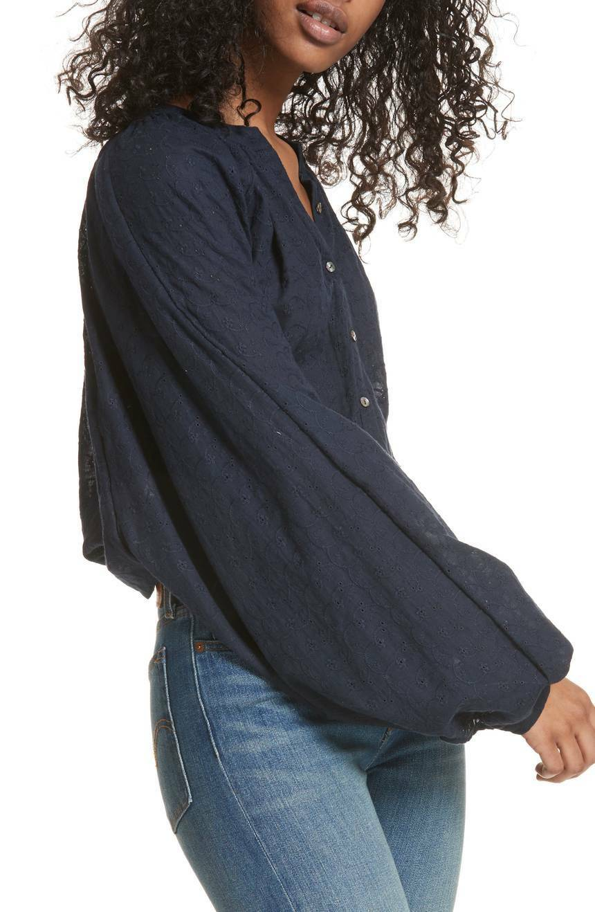 NWT Free people Down from the Clouds Peasant Top Retail