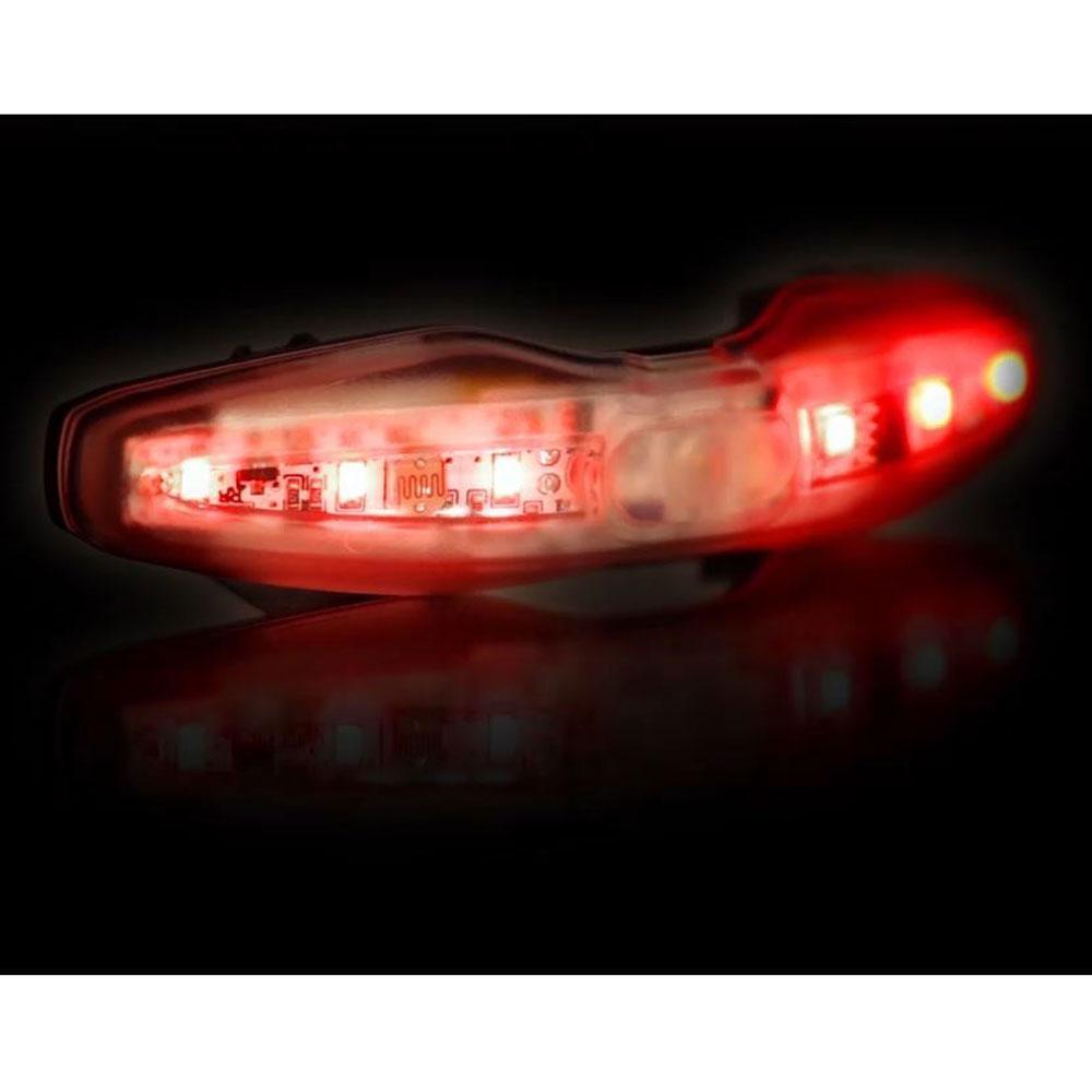 MET USB rechargeable rear cycle helmet light
