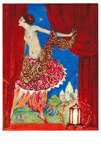 Very-Rare-Russian-postcard-Semi-nude-dancer-performs-Arabian-dance-by-M-Bobyshov