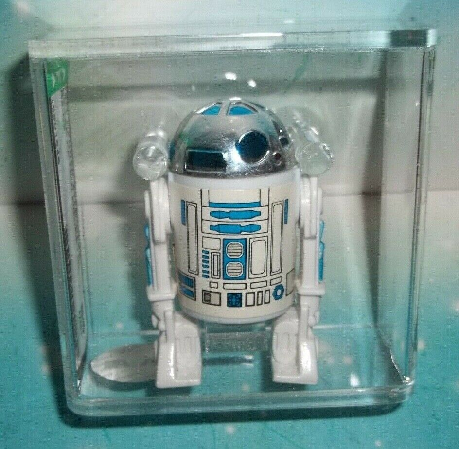STAR WARS VINTAGE 1977 ANH ASTRO DROID R2-D2 FIGURE COO HK AFA 85