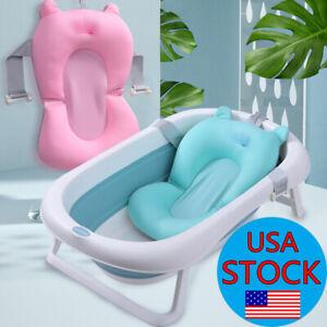 Baby-Bath-Tub-Pad-Non-Slip-Bathtub-Seat-Support-Mat-Newborn-Bath-Support-Cushion