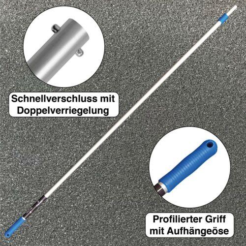 FenWi Profi Alu Teleskopstange Verlängerung bis 300cm Aluminium Teleskopstiel 3m