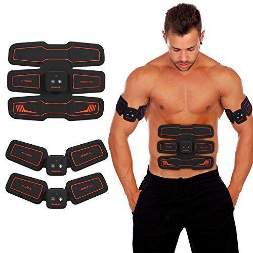 Electronic Abdominal Muscles Stimulator Vibration Pad & Belt System HURRISE Wire