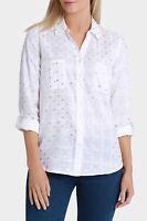 Regatta Spot 3/4 Sleeve Shirt White