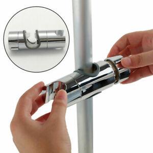 Duschkopf Handbrause Gleiter Halterung Brause verstellbar Halter für 25mm Stange