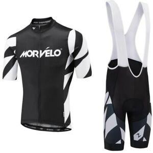 Morvelo-Summer-Cycling-Jersey-set-Maillot-Ropa-Ciclismo-Cycling-Bicycle-Clothing