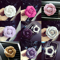 Camellia Smell Air-Conditioning Freshener Outlet Vent Perfume Clip Design Decor