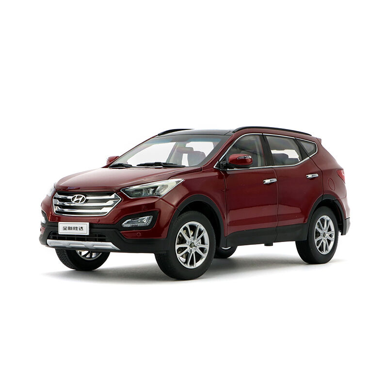 ORIGINAL MODEL,1 18 Hyundai NEW SANTAFE 2013,New wins Tatsu,RED