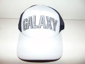 new product 7f5b3 7430f Image is loading LA-Los-Angeles-Galaxy-Adidas-Soccer-MLS-Hat-