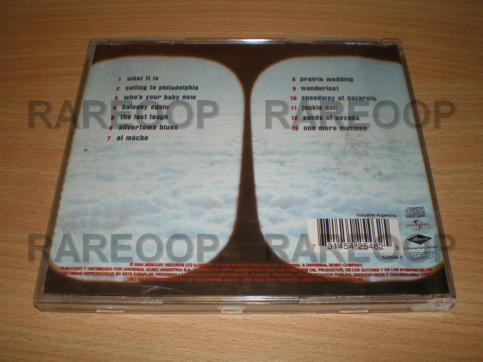 Sailing To Philadelphia By Mark Knopfler Cd 2000 Universal Made In