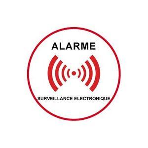 Autocollant-sous-video-surveillance-alarme-logo-5-5x5-cm
