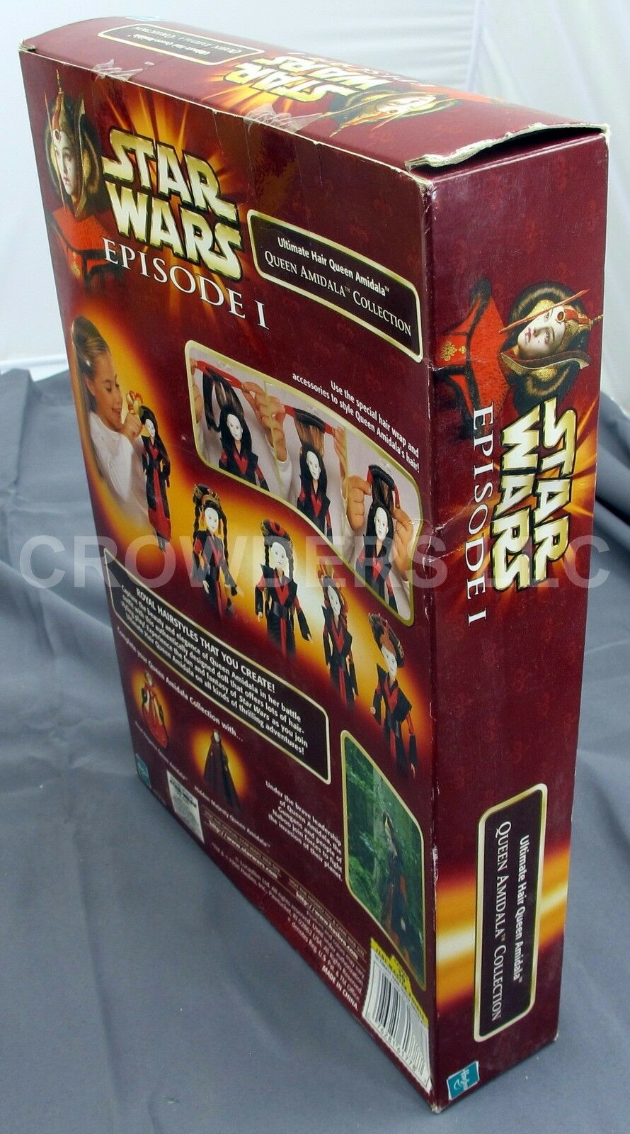 SW Episode 1 Electronic Naboo Fighter Ultimate & Hair Queen Amidala & Ultimate Qui Gon Jinn 5d729e