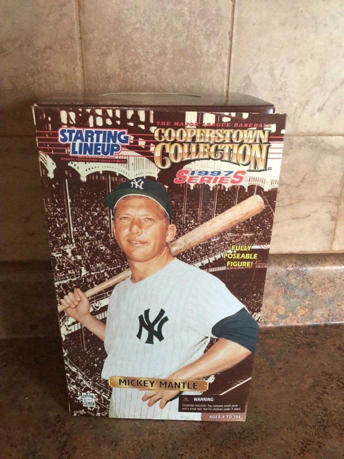 ¡envío gratis! Estrellating lineup Yankees de Nueva York Estatuilla Coleccionable 1997 Mickey Mickey Mickey Mantle  barato y de alta calidad